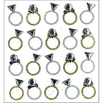 Jolee's Mini Repeats Stickers Rings E20751