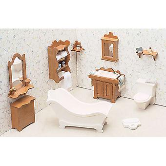 Dollhouse Furniture Kit Bathroom 72G 04