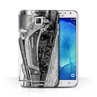 STUFF4 Case/Cover for Samsung Galaxy J7/J700/Union South Africa/Steam Locomotive