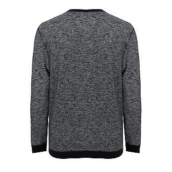 BadRhino Grey Marl Crew Sweatshirt