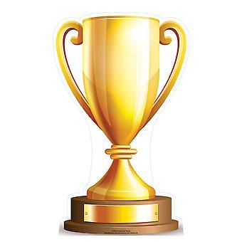 Lille Champions Trophy pap påklædningsdukke / Standee / står