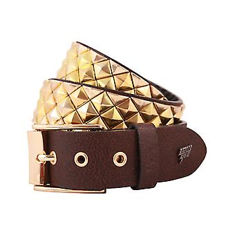 Armor Faux Leather Belt