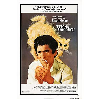 The Long Goodbye ons Poster Art Elliott Gould 1973 film Poster Masterprint