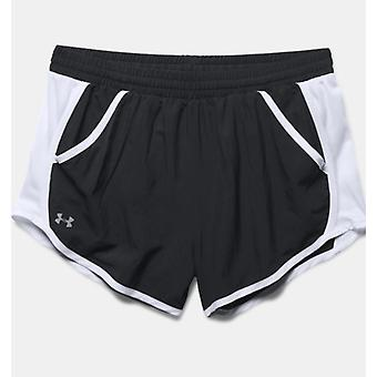 Under Armour Fly-By ladies short black 1271543-001