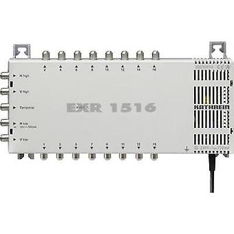 SAT multiswitch Kathrein EXR 1516 Inputs (multiswitches): 5 (4 SAT/1 terrestri