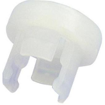 LED socket Polyamide 66 Suitable for LED 5 mm Snap-in fixing Ric