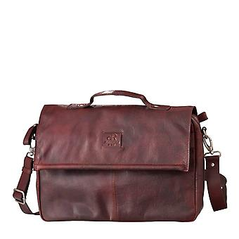 Sac de travail Dr Amsterdam Icon Brown