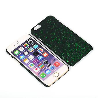 Cell phone cover case bumper shell voor Apple iPhone 6 plus 3D Star groen