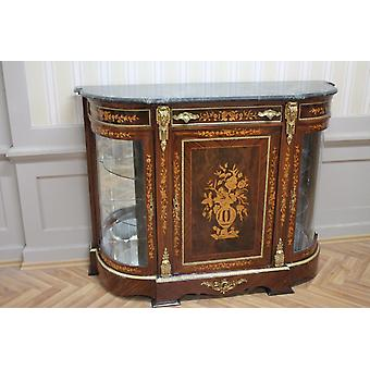 Buffet baroque style antique poitrine marbre antique style baroque Louis xv MkMo0050Gn