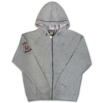 Live mechanica expressie Hoodie Heather Grey