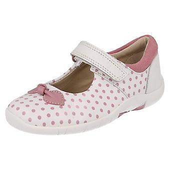 Обувь Clarks полька девушки усеяны лук дизайн Бинни точек