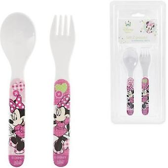 Lulabi Spoon-Fork Minnie (Home , Babies and Children , Eat , Kitchenware)