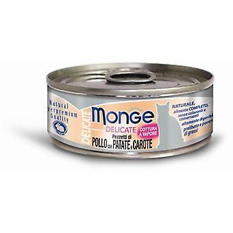 Monge NS Wet Cat Chicken, Carrots and Potatoes (Cats , Cat Food , Wet Food)