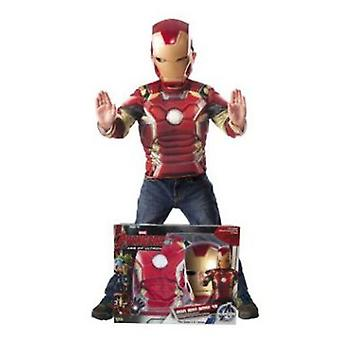 Rubie's Chest Child Costume Iron Man Pumped And Mascara In Box (Costumes)