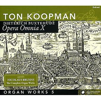 Ton Koopman - Buxtehude: Orgelværker, Vol. 5 [CD] USA import