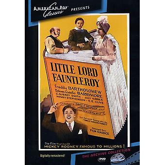 Little Lord Fauntleroy (1936) importar de Estados Unidos [DVD]