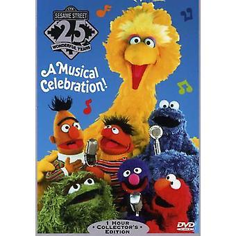 Sesame Street - 25 fødselsdag [DVD] USA importerer