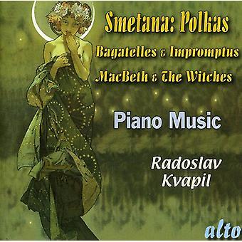 B. Smetana - Smetana: Polskor, bagateller & Impromptus; Macbeth & häxorna [CD] USA import