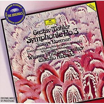 Norman/Abbado/Wiener Philharmoniker - Originals: Mahler-Symphony No 3 [CD] USA import