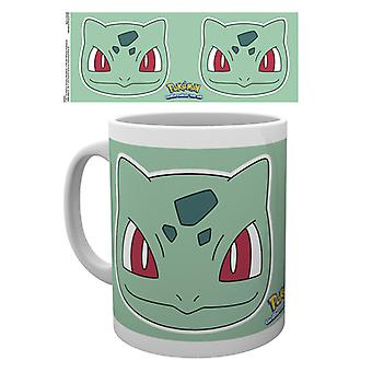 Pokemon Bulbasaur Face Mug