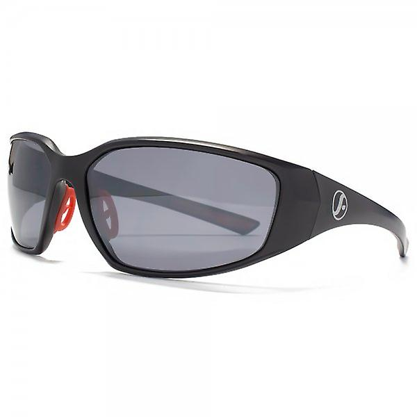 Freedom Polarised Sports Wrap Sunglasses In Black
