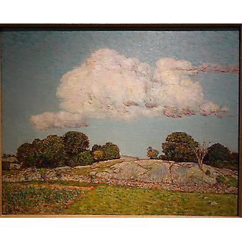 Childe Hassam - The Dragon Cloud Old Lyme Poster Print Giclee