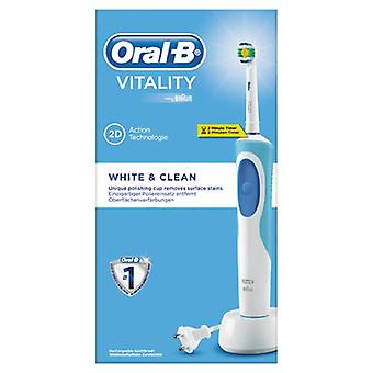 Oral B Vitality White + Clean Electric Dental Brush