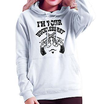Im Huckleberry Tombstone Doc Holliday kvinner er hette Sweatshirt