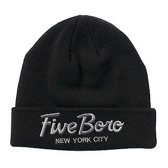 5boro Team Script Beanie sort