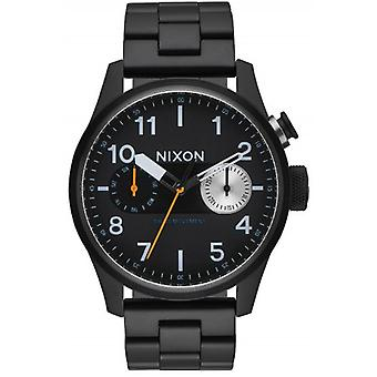 Nixon The Safari Deluxe Watch - Black