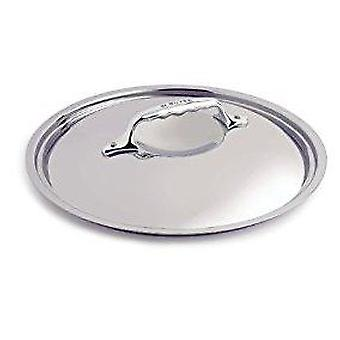 De Buyer AFFINITY PRIMA MATERA INOCUIVRE rounded stainless steel lid