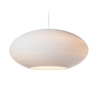 Graypants White Disc Pendant Light 24