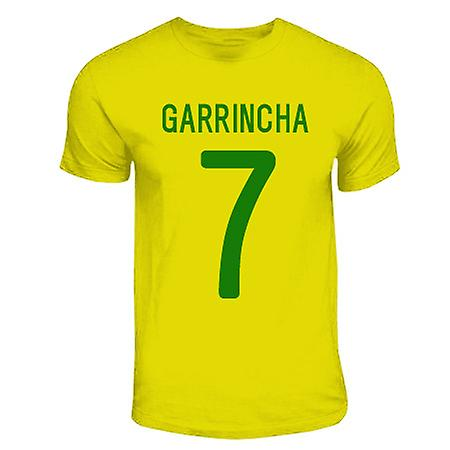 Garrincha Brazil Hero T-shirt (yellow)