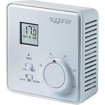 Room thermostat Surface-mount 24 h mode 5 up to 30 °C Sygonix