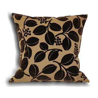 Riva Home Cherries Faux Velvet Cushion Cover
