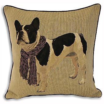 Riva Home Frenchie French Bulldog Cushion Cover