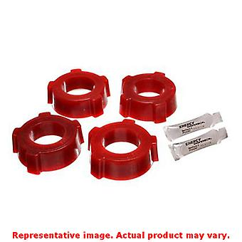 Energy Suspension Spring Plate Bushing Set 15.2108R Red Rear Fits:VOLKSWAGEN 19