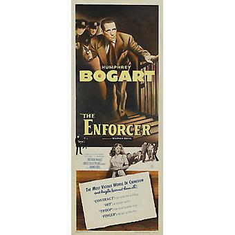 Enforcer The Movie Poster (14 x 36)