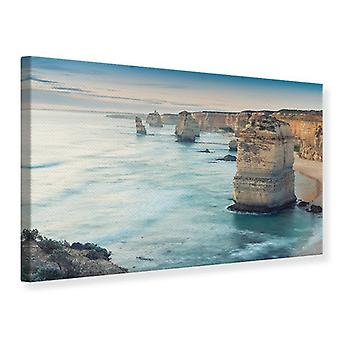 Canvas Print Cliffs