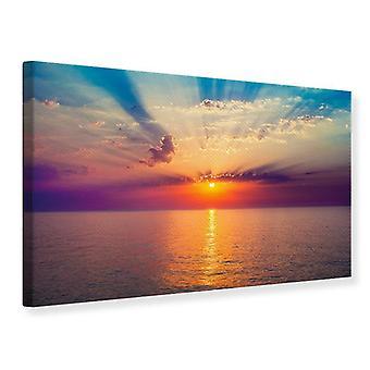Canvas Print Mystic Sunrise