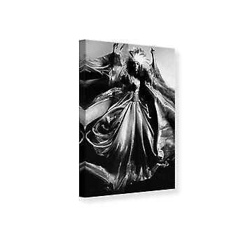 Canvas Print-Modell Kunst