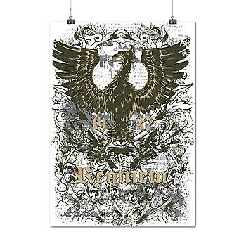 Matte or Glossy Poster with Old Bird Cool Vintage | Wellcoda | *d1231