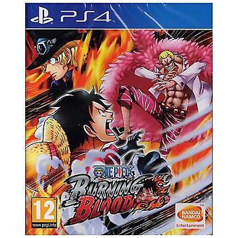 One Piece Burning Blood PS4 Game Multiple Language Version