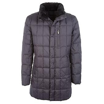 Armani Collezioni men's UCB28WUCW22626 grey fabric Quilted Jacket