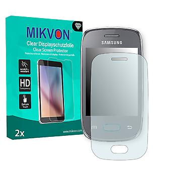 Samsung S5310 Galaxy Pocket Neo Screen Protector - Mikvon Clear (Retail Package with accessories)