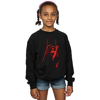 Star Wars Girls Vader Red Face Sweatshirt