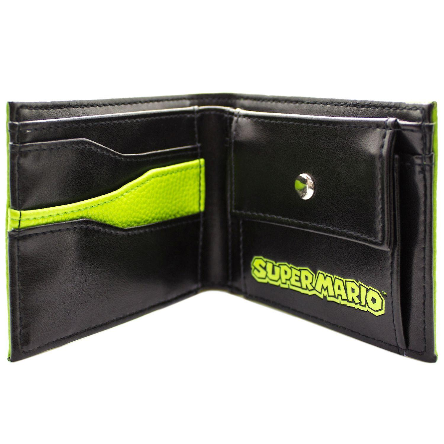 Super Mario World Yoshi Textured Style Bi-Fold Wallet