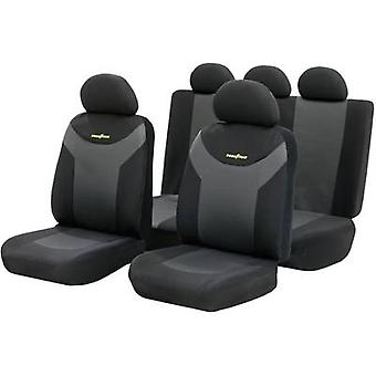 Seat covers 9-piece Goodyear 75529 Polyester