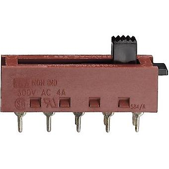 Slide switch 250 V AC 10 A 2 x On/On/On/On Arcolectric