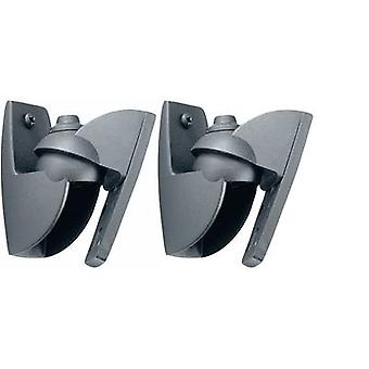 Speaker wall mount Tiltable, Swivelling Distance to wall (max.): 3 cm
